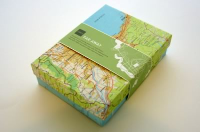 lovelydesign. products. far away mail box :  stationary office paper
